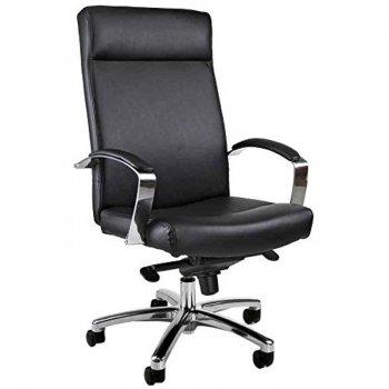 fauteuil direction milan cuir v ritable noir. Black Bedroom Furniture Sets. Home Design Ideas